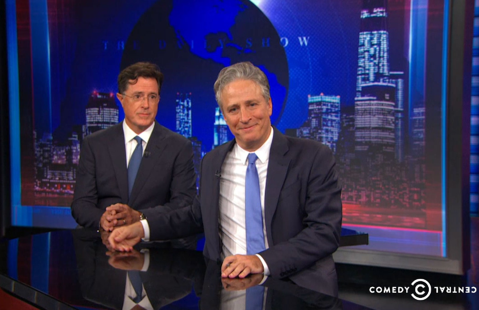 Six of the best moments from Jon Stewart's final ever The Daily Show episode