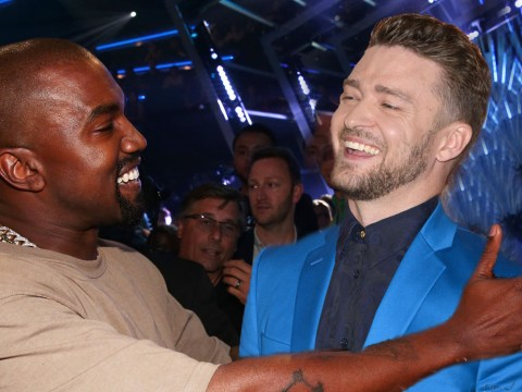 Justin Timberlake and Kanye West are having a major love-in after MTV VMAs shout-out