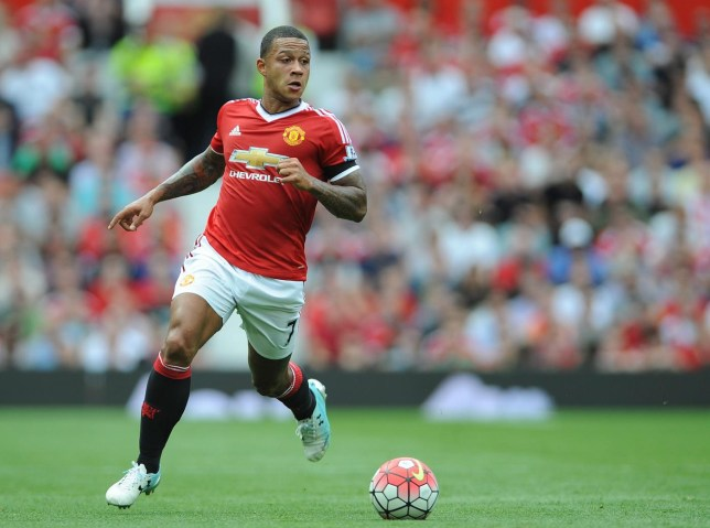 29f89efa2 Memphis Depay promises to honour the number 7 shirt at Manchester United  after Angel Di Maria exit