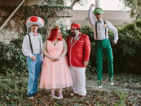 This Super Mario wedding is SUPER cute