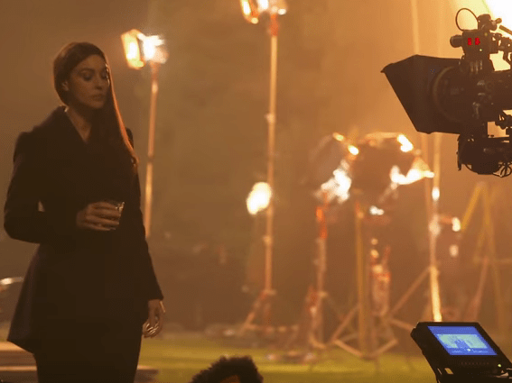 Bond 24: Spectre's Sam Mendes describes Monica Bellucci's 'seductive presence' in new 007 vlog