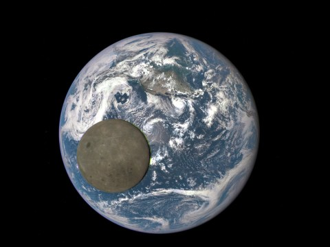 Incredible new picture shows dark side of the moon