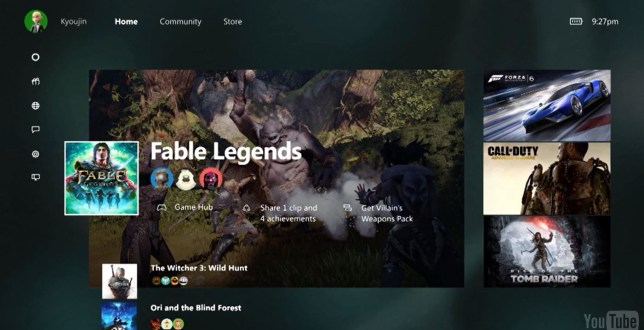 New Xbox One dashboard and backwards compatibility revealed