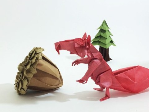 These incredible origami sculptures will blow you away