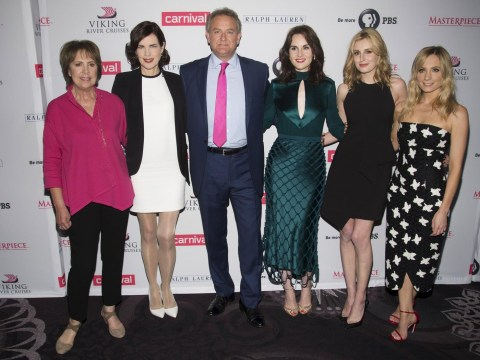 Downton Abbey cast get emotional about saying goodbye as producer admits they haven't ruled out a film