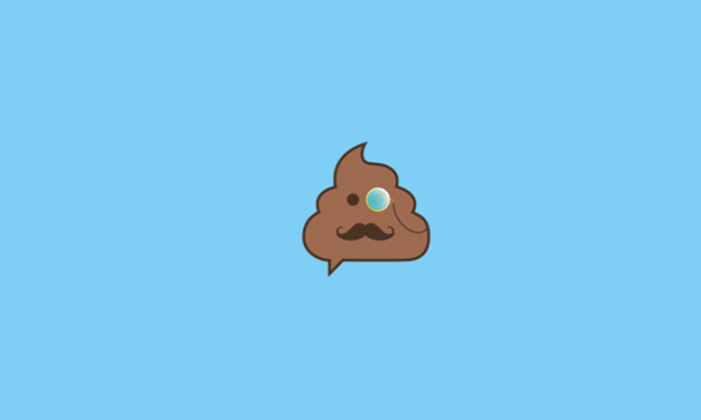 pooductive app lets you talk while you're pooping logo