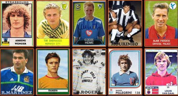 From Arsene Wenger to Jose Mourinho: What Premier League managers looked like as players