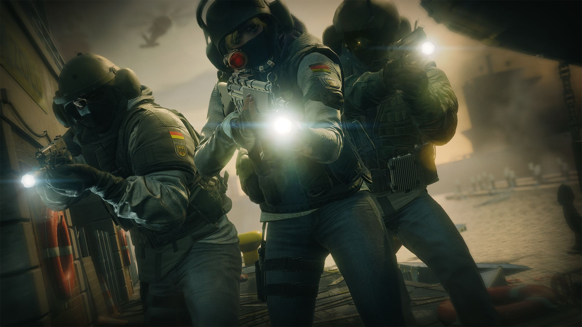 Rainbow Six Siege - there is single-player, but no story campaign