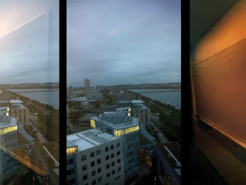 New technology allows you to remove reflections from photos