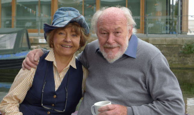 Prunella Scales and Timtohy West (Picture: Spun Gold TV)