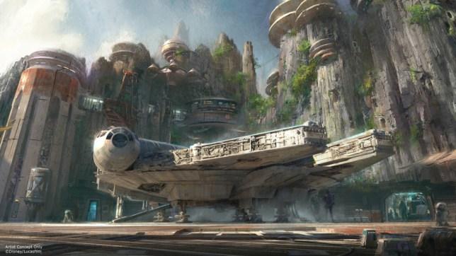 Star Wars lands concept art (Picture: Disney)