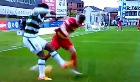 Celtic's Virgil van Dijk beats defender with ridiculous skill v Partick Thistle