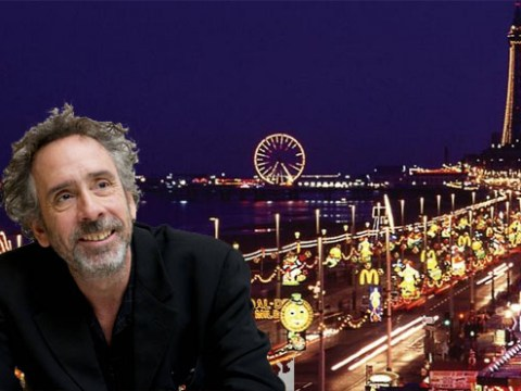 Blackpool is super excited that Tim Burton is switching on their illuminations