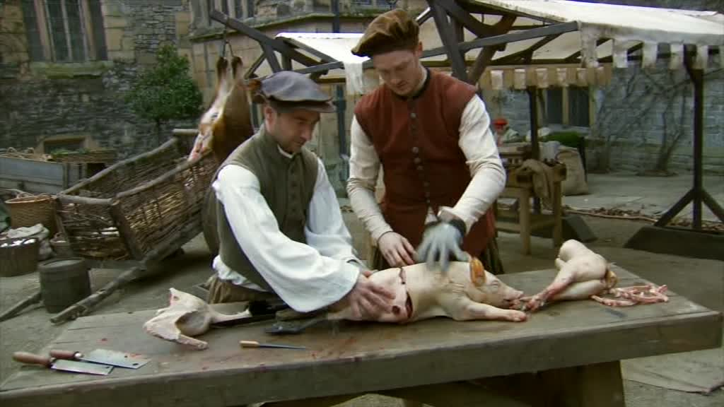 Skinning boar heads and washing clothes in wee – Time Crashers was really weird