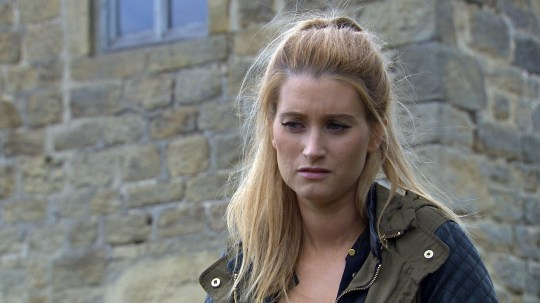 FROM ITV STRICT EMBARGO - No Use Before Tuesday 29 September 2015 Emmerdale - Ep 731112 Tuesday 6 October 2015 A concerned Debbie Dingle [CHARLEY WEBB] finds Cain Dingle [JEFF HORDLEY] at Shadrach's grave. Will a heart to heart with his daughter change his feelings towards his son? Picture contact: david.crook@itv.com on 0161 952 6214 This photograph is (C) ITV Plc and can only be reproduced for editorial purposes directly in connection with the programme or event mentioned above, or ITV plc. Once made available by ITV plc Picture Desk, this photograph can be reproduced once only up until the transmission [TX] date and no reproduction fee will be charged. Any subsequent usage may incur a fee. This photograph must not be manipulated [excluding basic cropping] in a manner which alters the visual appearance of the person photographed deemed detrimental or inappropriate by ITV plc Picture Desk. This photograph must not be syndicated to any other company, publication or website, or permanently archived, without the express written permission of ITV Plc Picture Desk. Full Terms and conditions are available on the website www.itvpictures.com