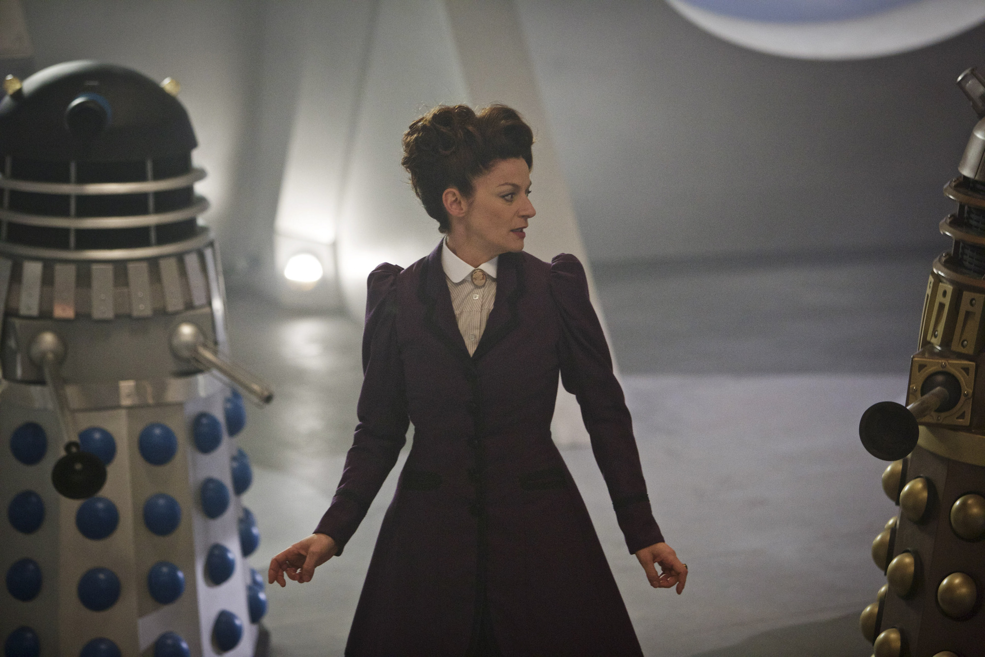 Doctor Who series 9, episode 2 starring Michelle Gomez as Missy aka The Master