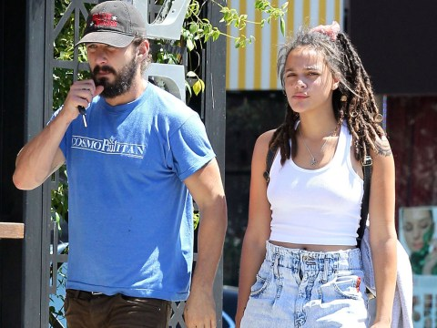 Has Shia LaBeouf split with Mia Goth and moved in with his new co-star?