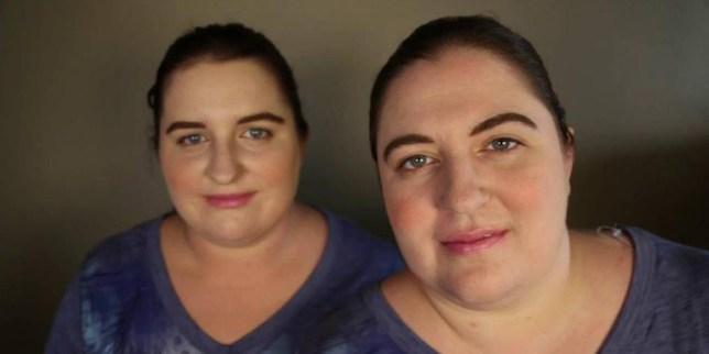 Incredible moment two IDENTICAL strangers come face to face for the first time after website revealed they are real-life doppelgangers Source: YouTube/TwinStrangers.comvlcsnap-2015-09-01-14h01m11s25.jpg