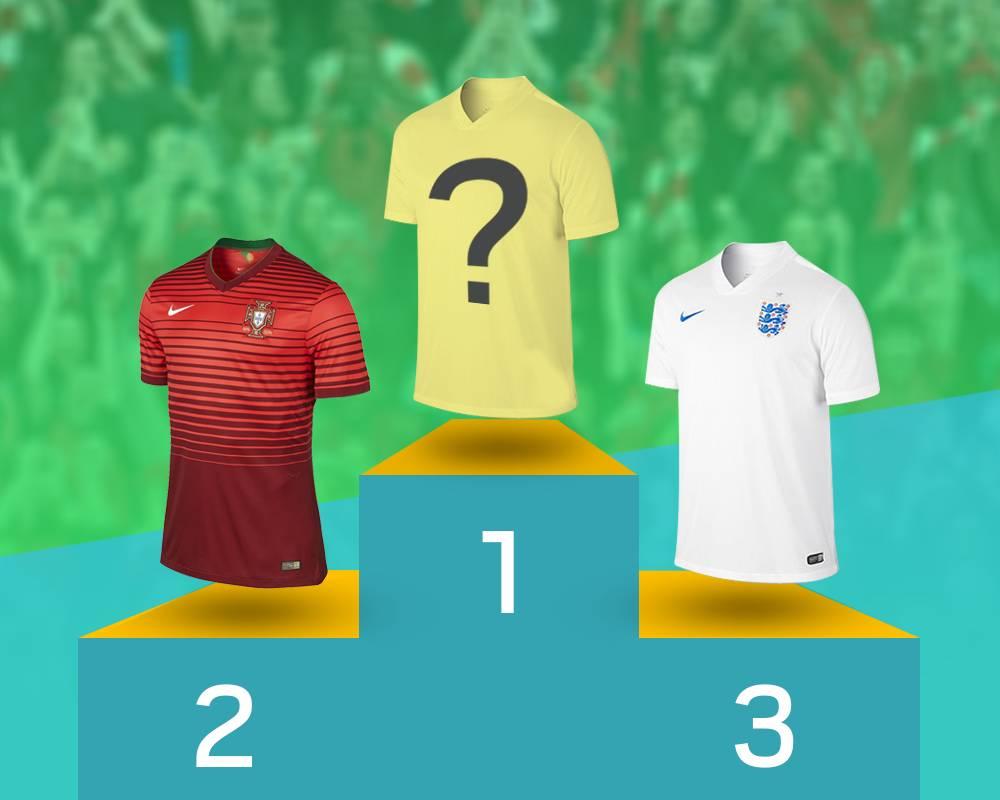 Top international kits ranked credit: Getty