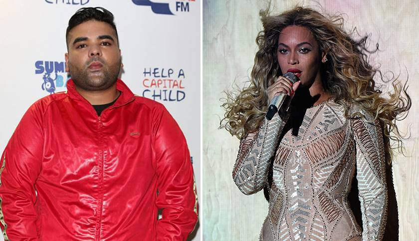 Is Naughty Boy about to record a track with Beyonce?
