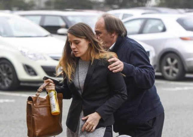 PIC BY DAN ROWLANDS/MERCURY PRESS (PICTURED: GAYLE DAWN NEWLAND ARRIVES AT CHESTER CROWN COURT ON TUESDAY 8TH SEPTEMBER 2015 ACCUSED OF FIVE COUNTS OF SEXUAL ASSAULT IN 2013) SEE MERCURY COPY