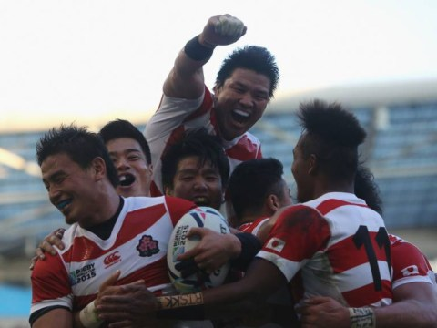 Japan pull off biggest shock in Rugby World Cup history by beating South Africa