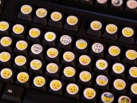 Guy creates emoji keyboard so we may never use words again