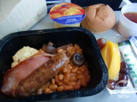 There is a website devoted purely to pictures of plane food