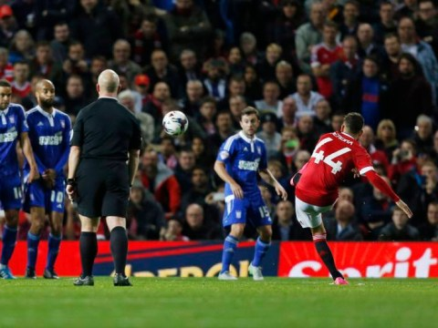 Andreas Pereira scores incredible free-kick on full debut for Manchester United v Ipswich Town