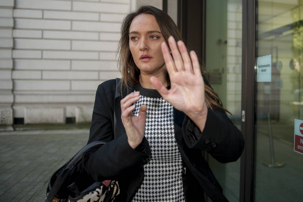 National News and Pictures Date: 25/09/15 Pictured: Caroline Westlake Caption: Zoo keeper, Caroline Westlake, arrives at Westminster Magistrateís Court, on allegations of assault