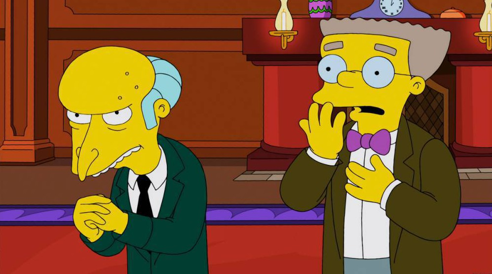 The Simpsons' Smithers is FINALLY coming out as gay in the next episode