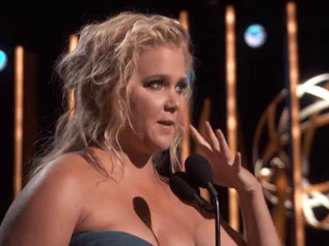 Amy Schumer thanks the girl who did her make up in hilarious Emmys speech