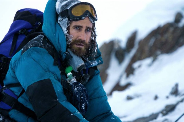 Film: Everest (2015), starring Jake Gyllenhaal as Scott Fischer. Directed By BALTASAR KORMAKUR 02 September 2015 SAN53620 Allstar/UNIVERSAL PICTURES (USA/UK/ISL 2015) **WARNING** This Photograph is for editorial use only and is the copyright of UNIVERSAL PICTURES and/or the Photographer assigned by the Film or Production Company & can only be reproduced by publications in conjunction with the promotion of the above Film. A Mandatory Credit To UNIVERSAL PICTURES is required. The Photographer should also be credited when known. No commercial use can be granted without written authority from the Film Company.