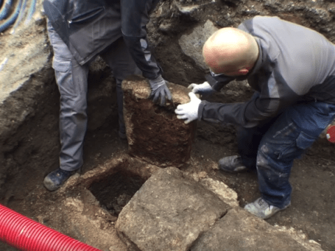 Watch: Archaeologists exhume 1000-year-old corpse