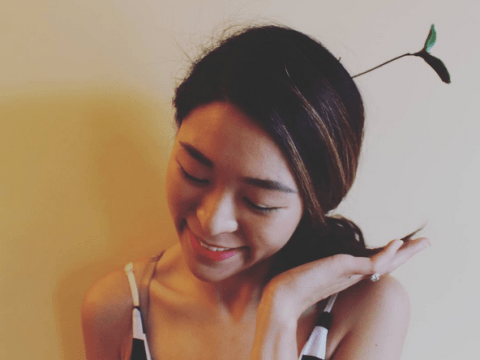 Forget flower crowns, bean sprout hair slides are the latest big trend
