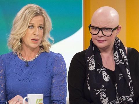Gail Porter brands Katie Hopkins 'disgusting' for cancer hair loss tweet