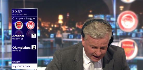 Charlie Nicholas sums up what all Arsenal fans think about Arsene Wenger resting Petr Cech for David Ospina