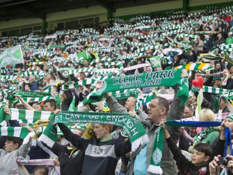 Smelly Celtic fan means club have to remind supporters to wash