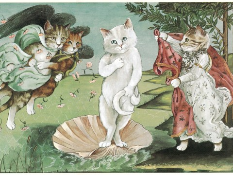 This new book puts cats into famous movies and works of art