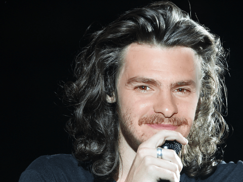 Andrew Garfield wants to put his 'man bun' to good use – in a Harry Styles biopic