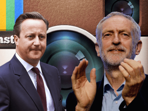 What would Jeremy Corbyn and David Cameron be like on Instagram?