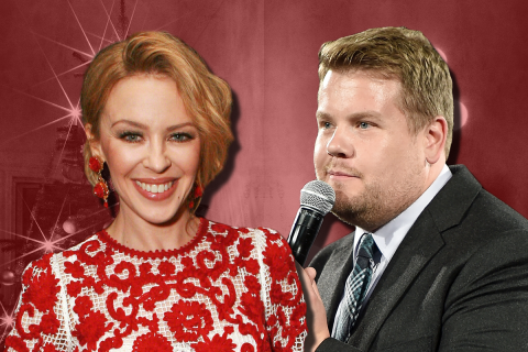 James Corden and Kylie Minogue are releasing a Christmas single together