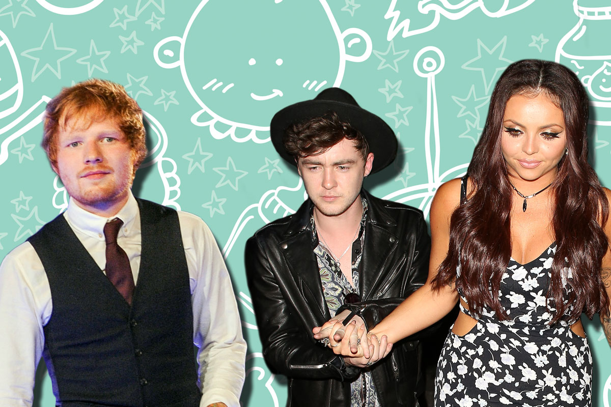 Little Mix singer Jesy Nelson and Jake Roche are letting Ed Sheeran name their first baby
