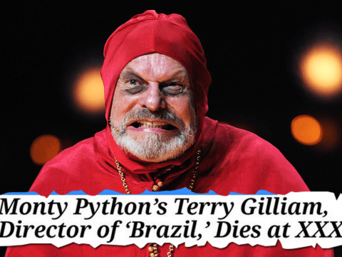 Rumours of Terry Gilliam's death were greatly exaggerated