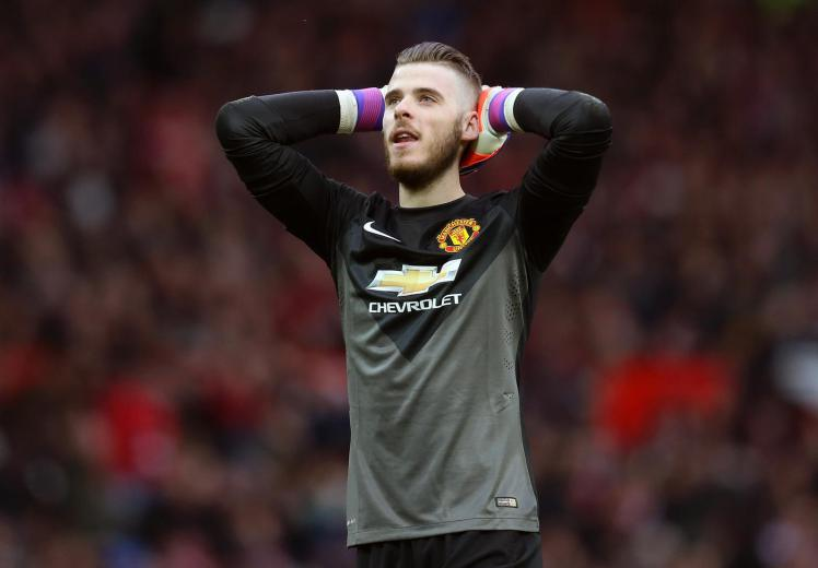 David De Gea should be dropped, apparently (Picture:Getty)