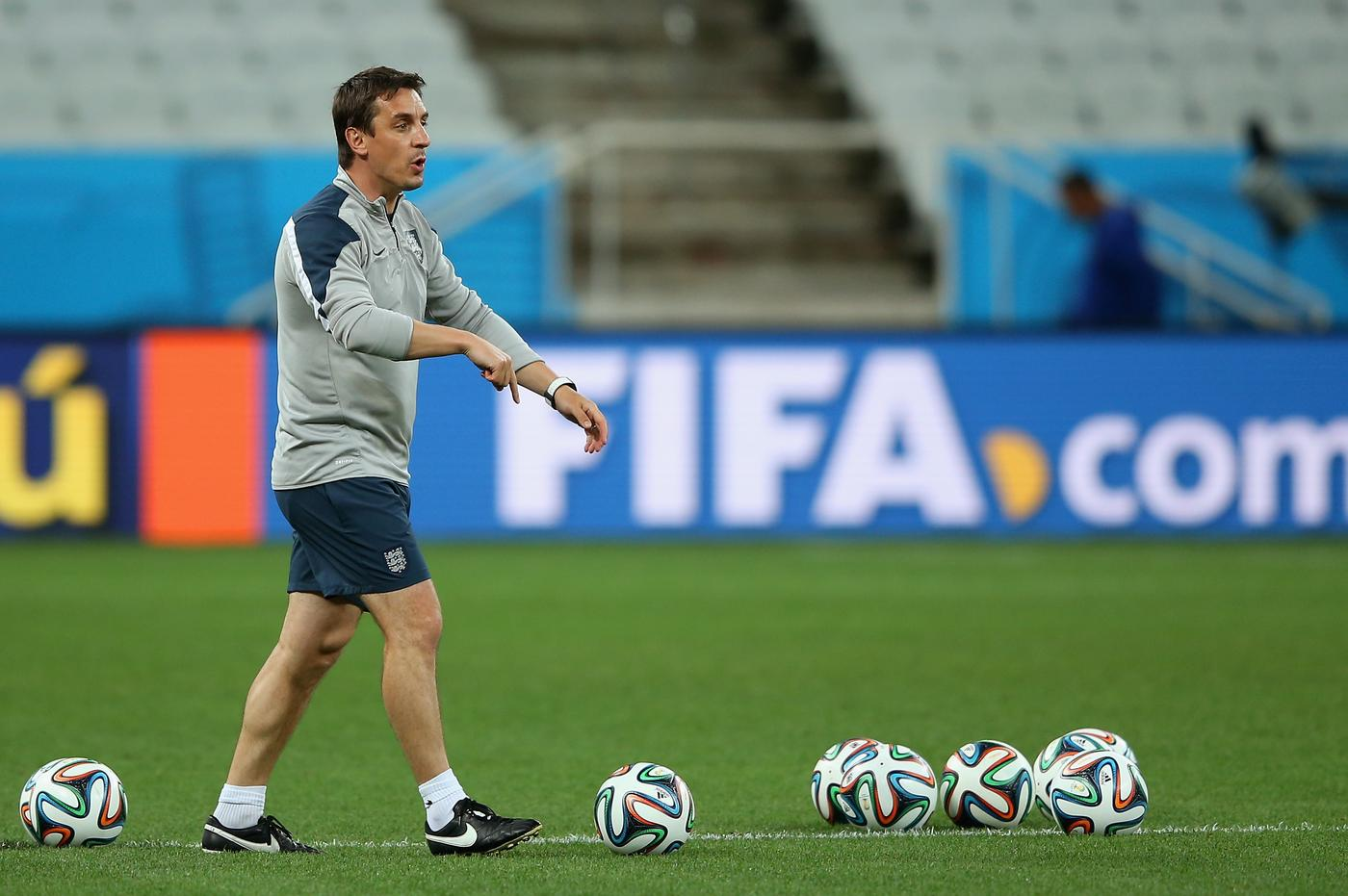 Gary Neville fears Louis van Gaal is picking too many fights at Manchester United