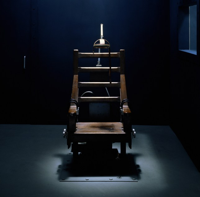 The electric chair (Photo: Getty)