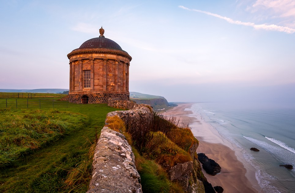 Mussenden Temple, Castlerock, Northern Ireland