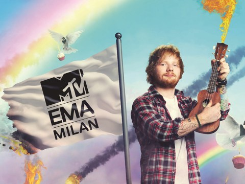Ed Sheeran is teaming up with Orange Is The New Black's Ruby Rose to host the 2015 MTV EMAs