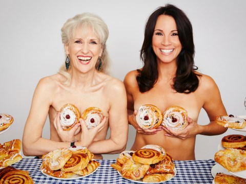 The Loose Women become Calendar Girls to celebrate WI's 100th birthday